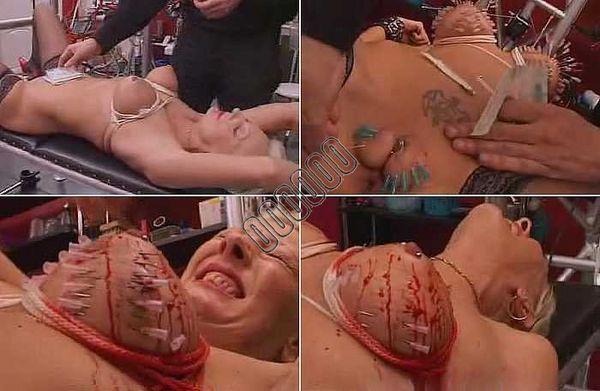 Blood bdsm torture