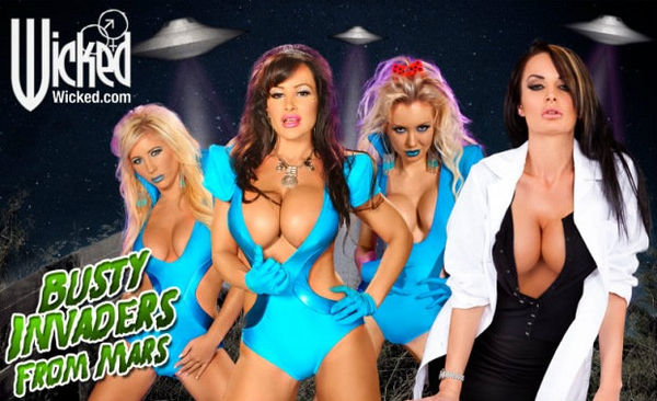 Busty Invaders From Mars