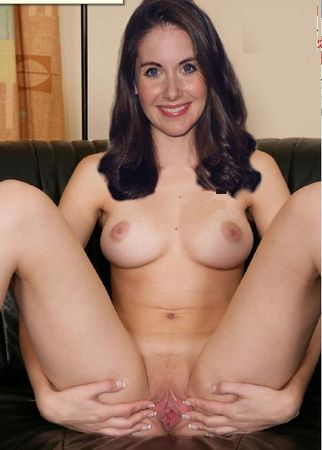 fakes nude Alison brie