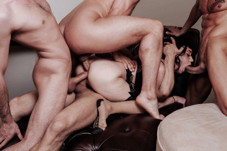For hot celebrity rough gangbang videos excellent