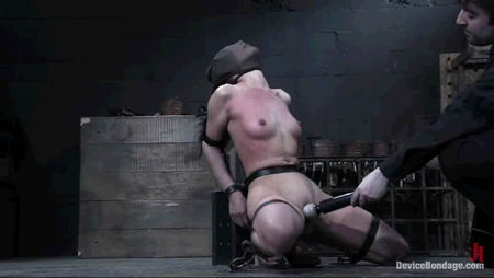 Sexy Lady Hard Fucked guy - tied up and fucked