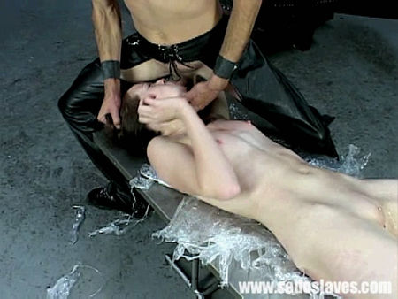 The young girl had a tortured and brutally fucked