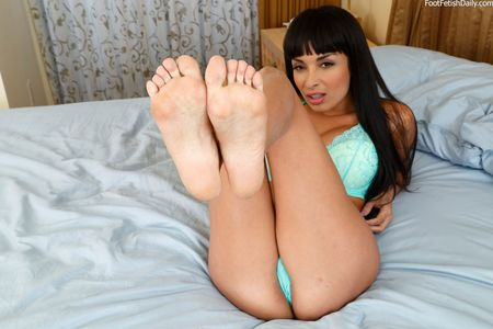year old feet