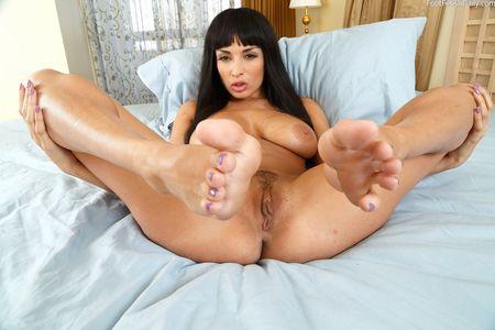 Anissa kate foot fetish