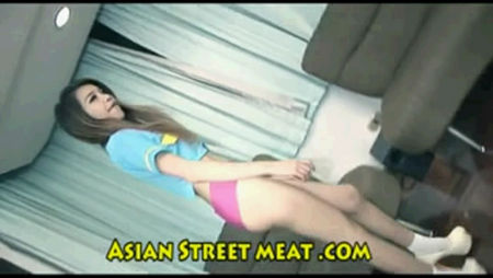 Submissive young Asian girl gets dick in her ass