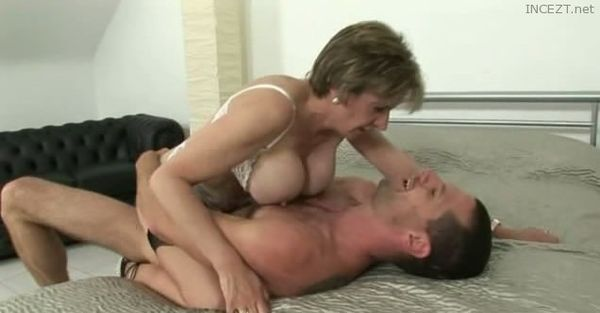 Lonely mother strips for her son