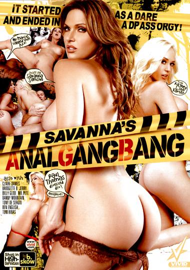 Savanna's Anal Gang Bang