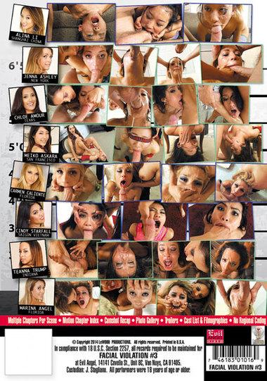 Facial Violation #3
