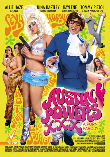 Austin Powers XXX A Porn Parody