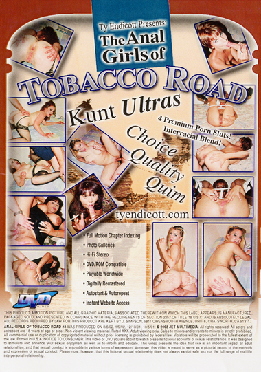 Anal Girls Of Tobacco Road #3