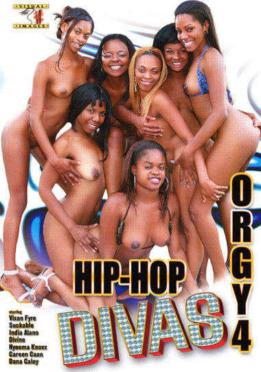 Hip-Hop Divas Orgy #4
