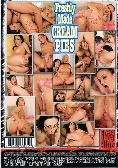 Freshly Made Cream Pie