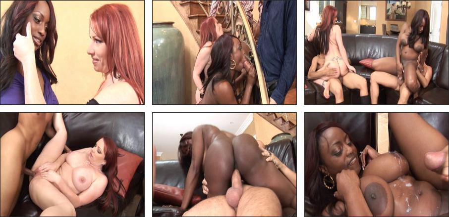 Milf cant take black dick