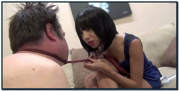 Asian Doll Humiliates Her Man Female Domination