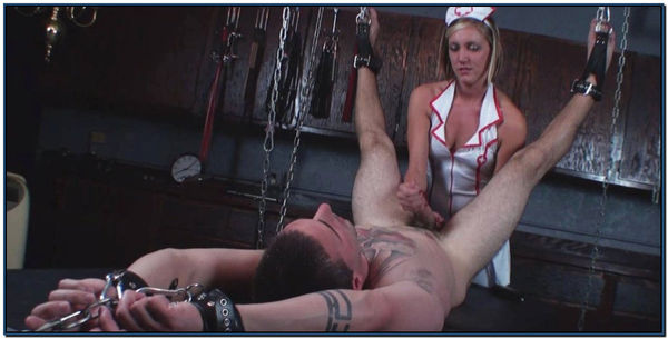 Fetish Clinic Draining Nurse Cover Female Domination
