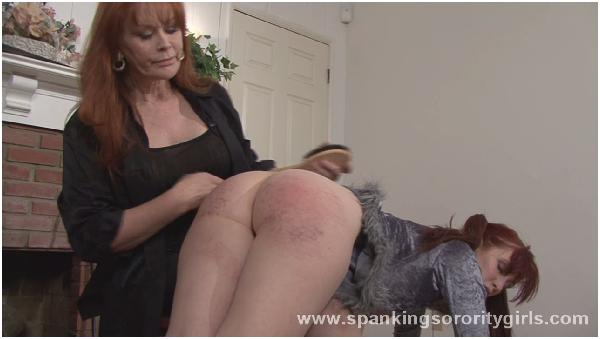 Lesbian Domination, Girl Whip Spank on the Ass Female, Lezdom, Bondage, Spanked with a Whip and a Poi