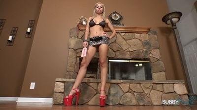 Subby Hubby - Kylie & Leopard Goddess POV