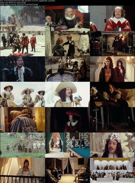 Erotic adventures of the three musketeers