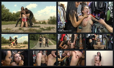 Public Disgrace - Jul 3, 2015 - John Strong, Fetish Liza and Chiara Diletto