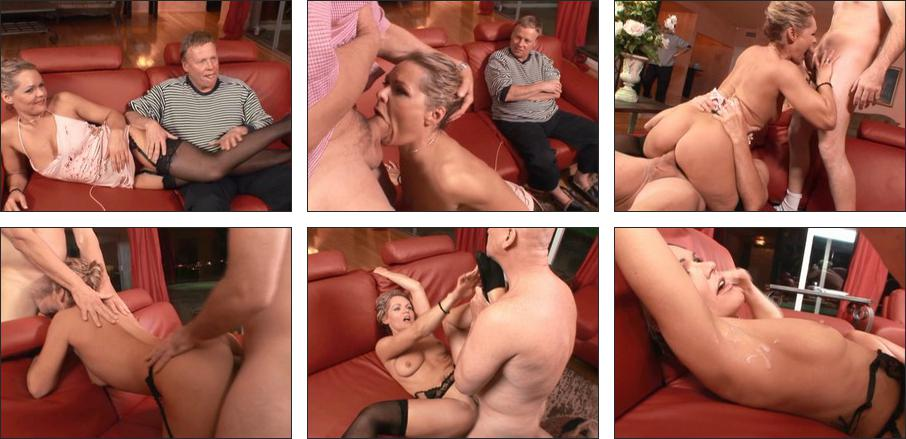 Cleanup after creampie cuckold