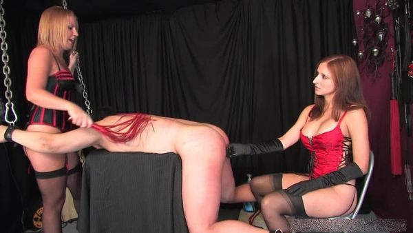 image Mistresses paris and ashley mind fuck slave manhole