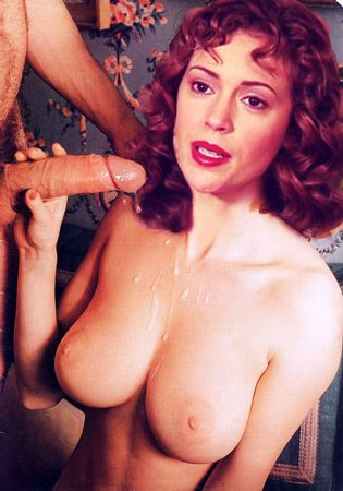 alyssa milano blow job