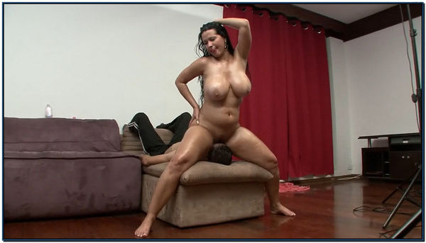 Jennifer Giardini Face Fuck On The Couch Female Domination