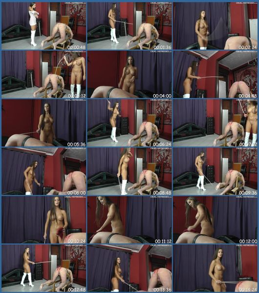 Amandas Naked Spanking Female Domination