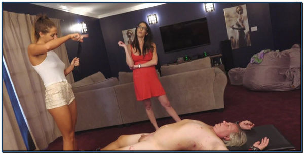 Whip His Man Filth Female Domination