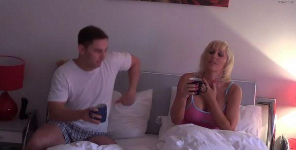 stepmom teases stepson