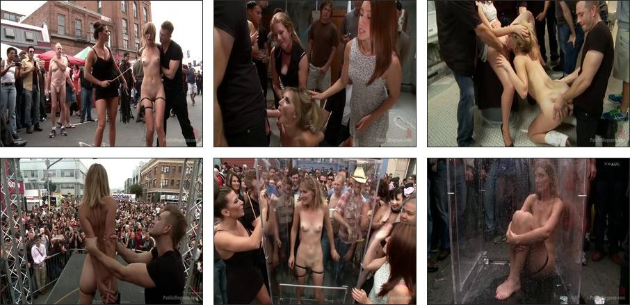 Folsom Street Spectacle! The ultimate humiliation of Mona Wales, Scene 1