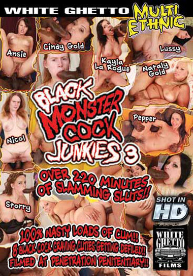 Black Monster Cock Junkies #3