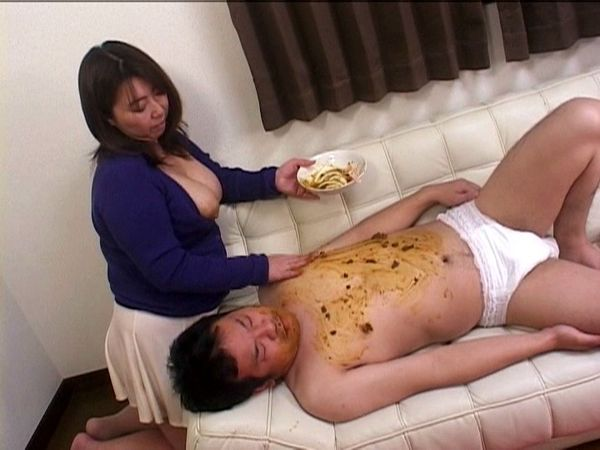 Japanese Scat, Femdom Scat, Scat play, Shit eating
