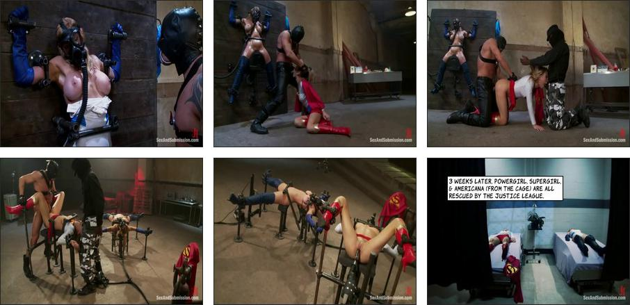 Many months in the making, this Superhero Parody fetish test shoot has it all high production value, Scene 1