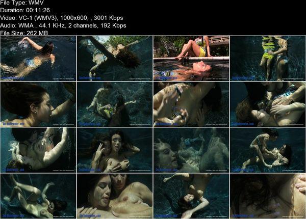 KS Aquaphilia - Girls Swimming Nude Under Water -