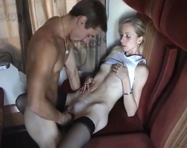 купе вагон секс видео
