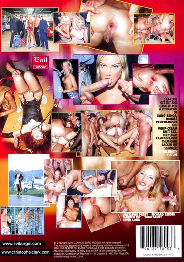 Euro Angels Hardball #5: Ass Gangsters