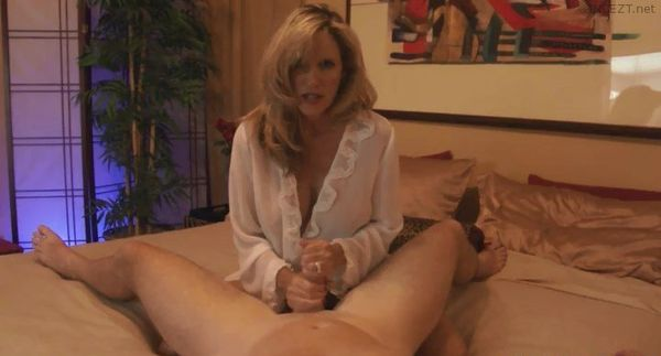 Mature masturbation nylon lingerie