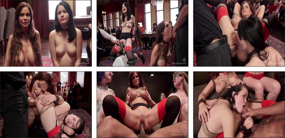 Yhivi's Perfect Slave Ass Initiated, Scene 1